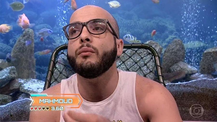 """Mahmoud no confessionário do """"BBB18"""" - Reprodução/GloboPlay"""