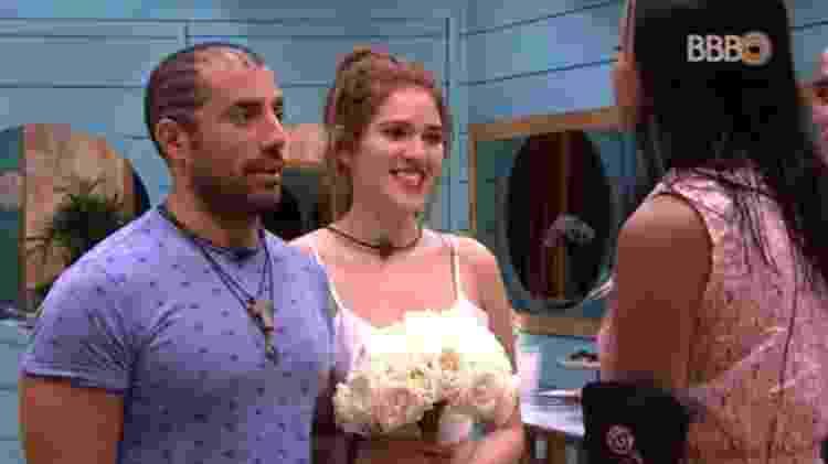 Casamento - Reprodução/GlobosatPlay - Reprodução/GlobosatPlay