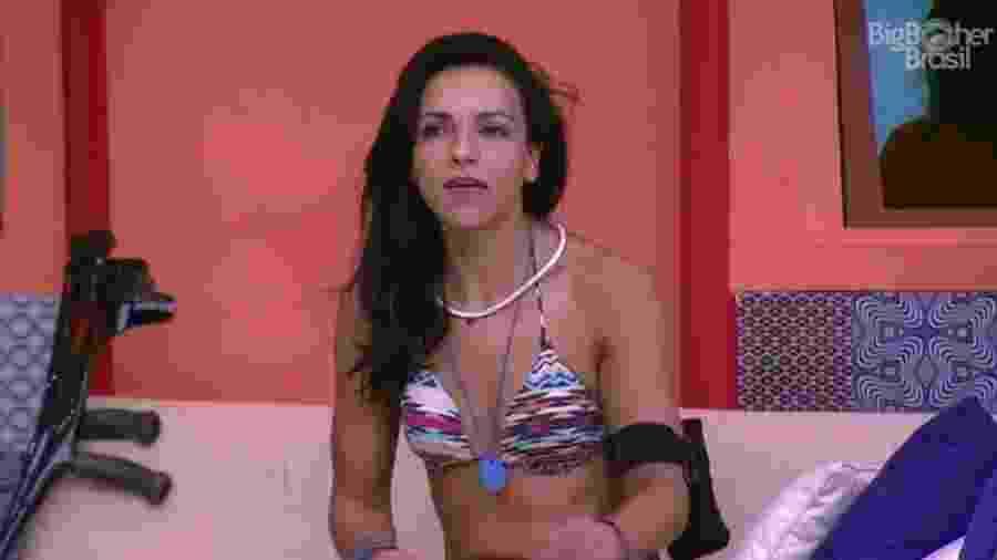 Marinalva fala sobre a situação de Emilly na casa - Reprodução/TV Globo