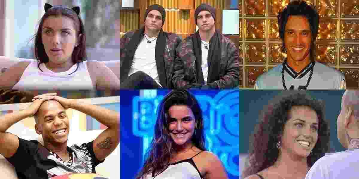 """Os intercâmbios entre """"Big Brothers"""" ao redor do mundo - Montagem/TV Globo"""