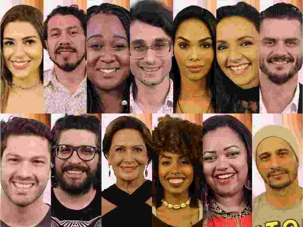 Os 13 primeiros participantes anunciados do BBB 17 - Divulgação / TV Globo
