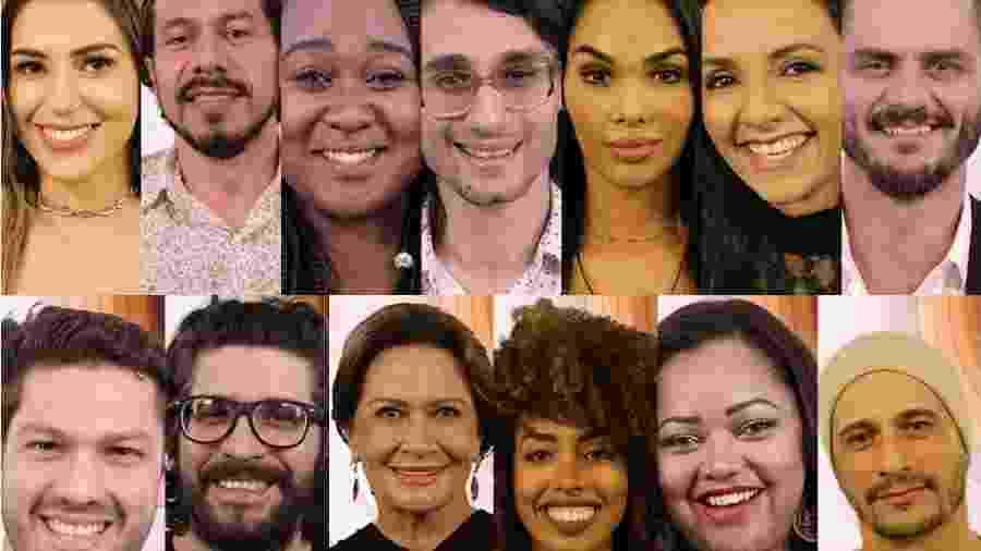 """Os 13 participantes já confirmados no """"BBB17""""; duplas de gêmeos disputam 2 vagas - Divulgação / TV Globo"""