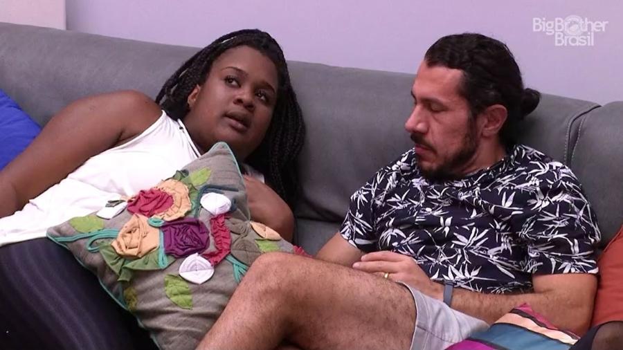 Roberta acha que será emparedada por Daniel - Reprodução/TV Globo