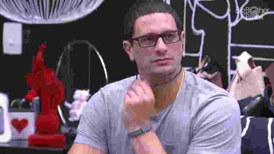 Daniel afirma que Emilly não pode decidir indicação do líder sozinha - Reprodução/TV Globo