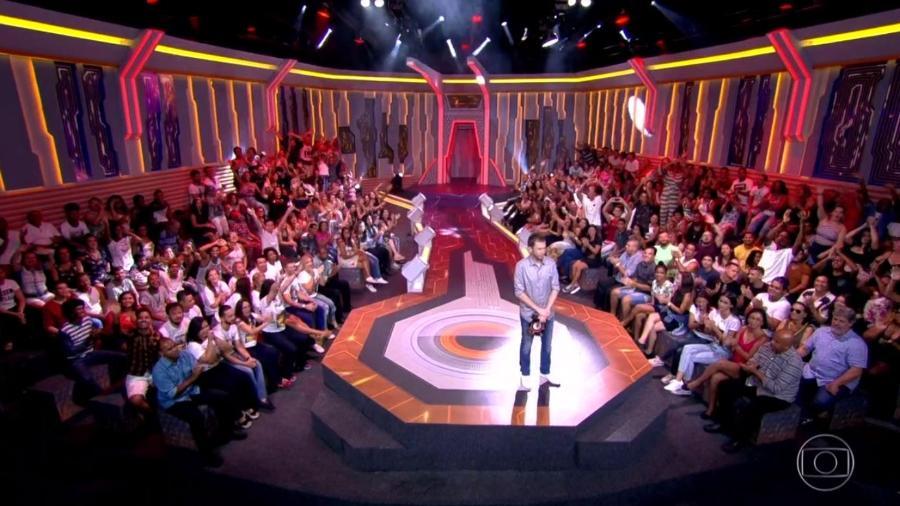 Plateia do programa se diverte depois ouvir Viegas falando sobre Diego  - Reprodução/TvGlobo