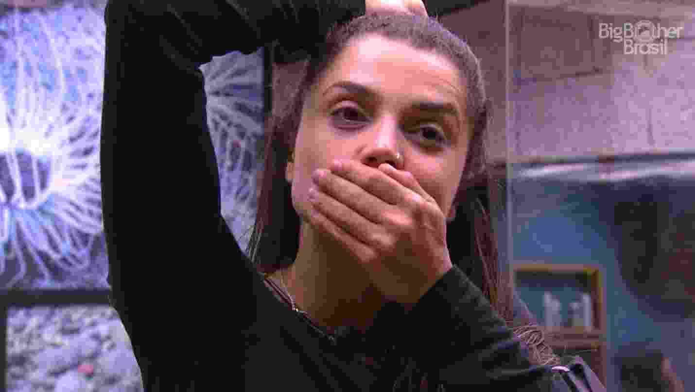 Paula fica chocada com anúncio da produção do programa - Reprodução/GloboPlay