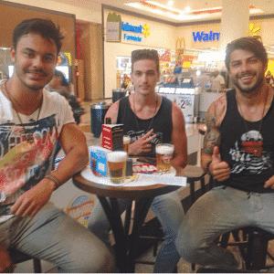 Modelo, Renan Oliveira tem 29 anos e é de Amparo (SP), mas mora na capital paulista. Ele está no BBB16 - Reprodução/Instagram/renanoliveira_bbb16_oficial