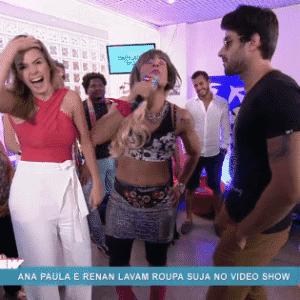 6.abr.2016 - Joaquim Lopes coloca Ana Paula e Renan frente a frente - Reprodução/ TV Globo