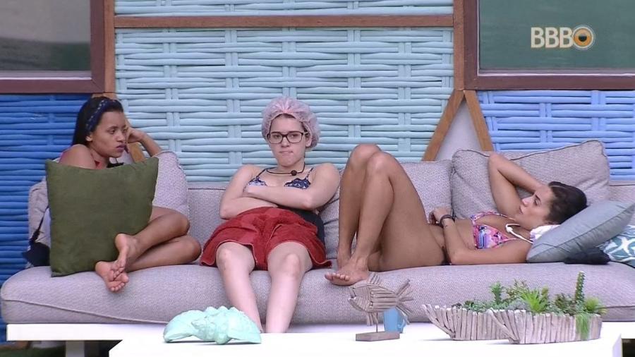 Gleici, Ana Clara e Paula falam sobre o paredão - Reprodução/GlobosatPlay
