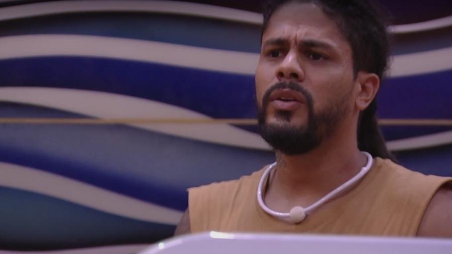 Viegas afirma que gostaria de enfrentar família Lima e Gleici no paredão - Reprodução/Globoplay