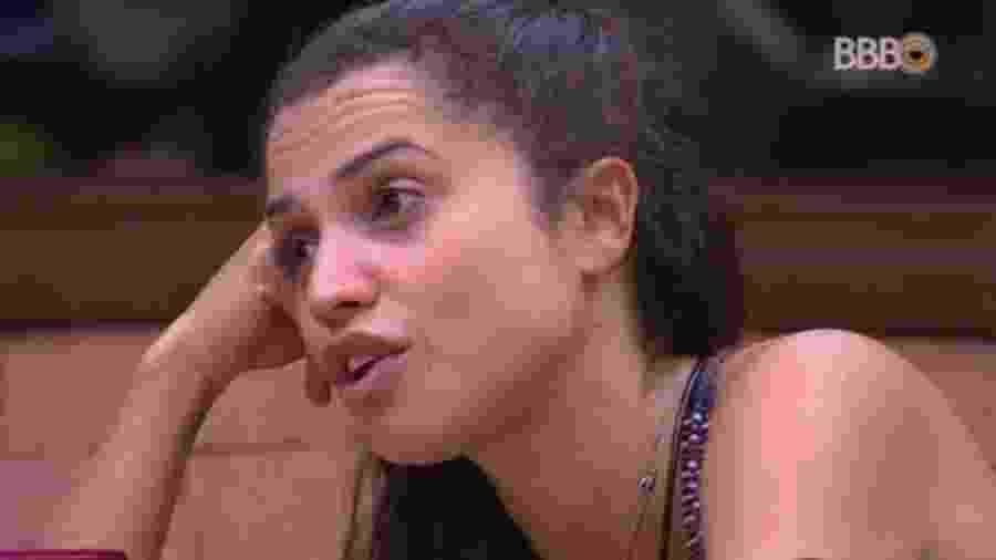 """Paula comenta saída de Viegas do """"BBB18""""  - Reprodução/GlobosatPlay"""