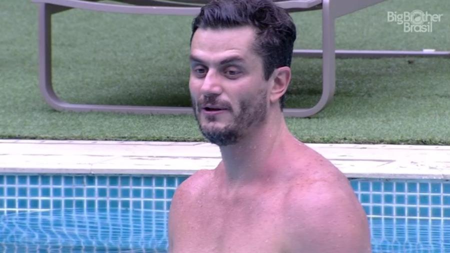 """Marcos quer ficar pelado na final do """"BBB17"""" - Reprodução/TV Globo"""