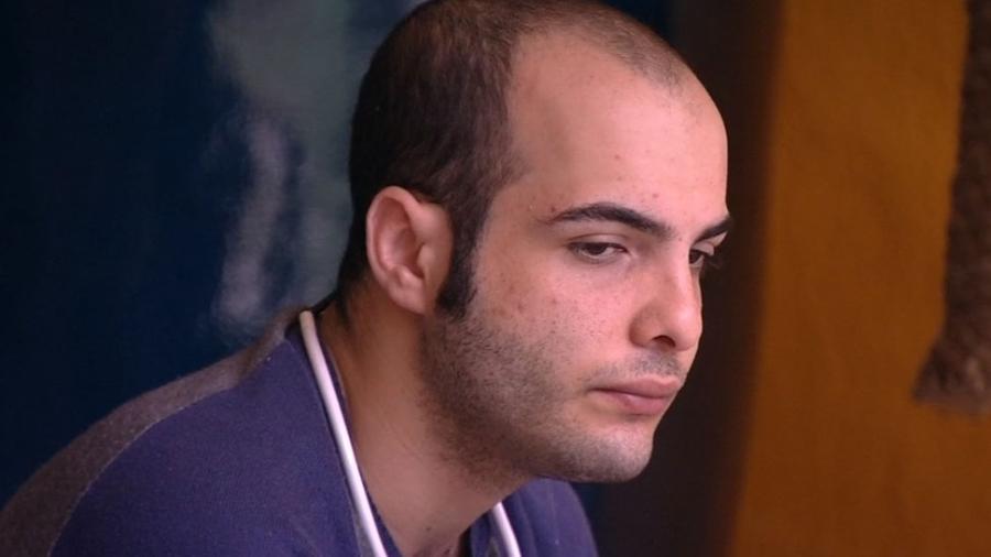 """Mahmoud conversa sobre o paredão triplo do """"BBB18"""" - Reprodução/GloboPlay"""