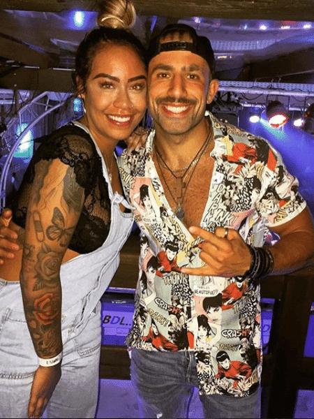 Rafaella Santos e Kaysar - Reprodução/Instagram