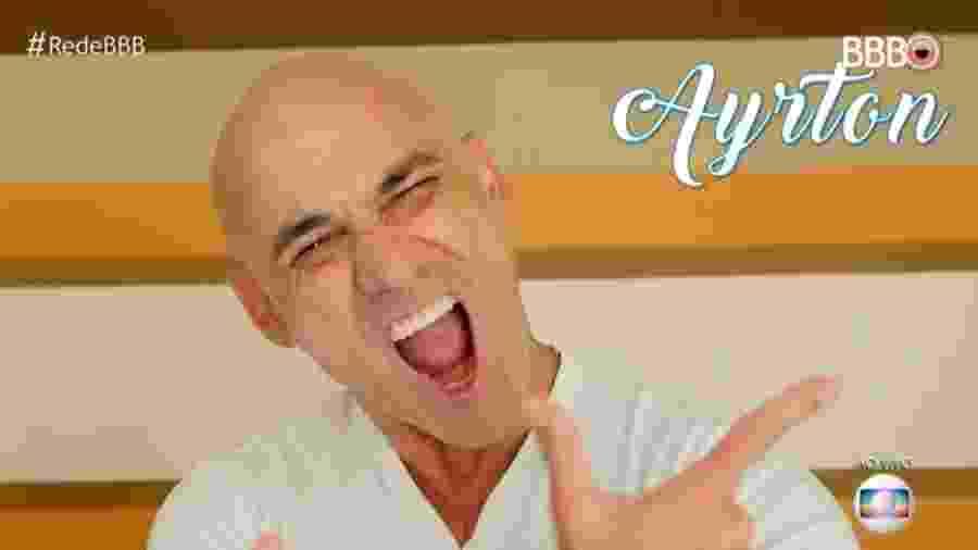"""O brother Ayrton, participante do """"BBB18"""" - Reprodução/TVGlobo"""