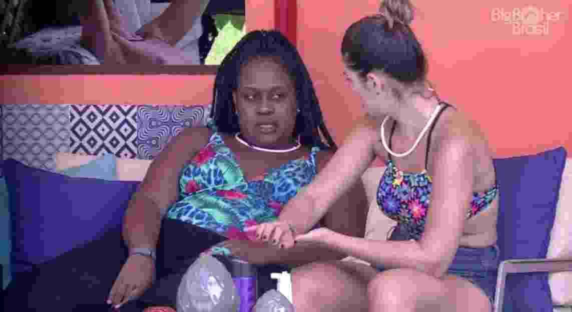 """Roberta acredita não estar fazendo nada errado no """"BBB17"""" - Reprodução/TV Globo"""