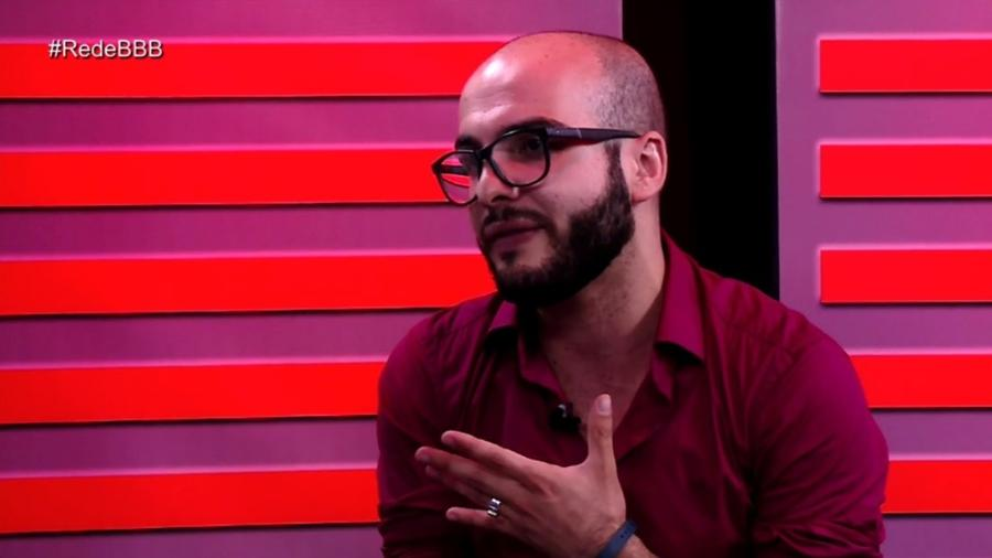 """Mahmoud participa do programa """"Rede BBB"""" - Reprodução/Gshow"""