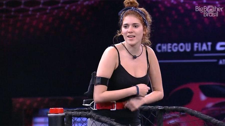 Ana Clara canta para espantar o sono - Reprodução/GloboPlay