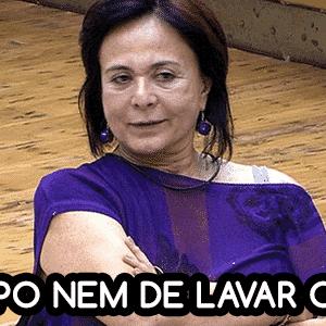 Diva bbb seria melhor se ... harumi - Reprodução/TV Globo e Montagem/Diva Depressão