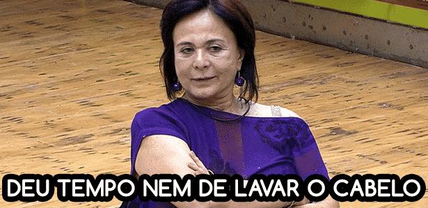 Diva bbb seria melhor se ... harumi - Reprodução/TV Globo e Montagem/Diva Depressão - Reprodução/TV Globo e Montagem/Diva Depressão