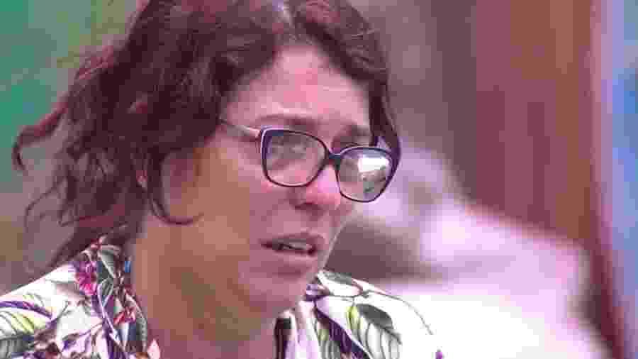 Mara chora ao falar sobre críticas de Mahmoud - Reprodução/Globoplay