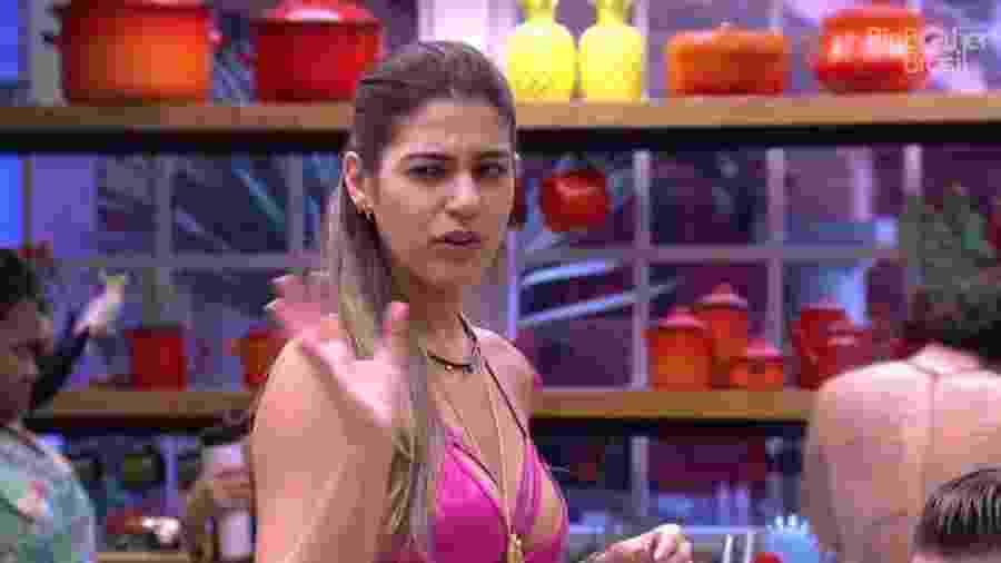"""01.jan.2017 - Vivian, participante do""""BBB17"""" - Reprodução/Tv Globo"""