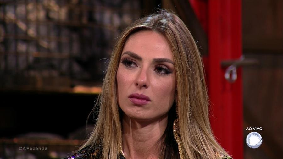 """Nicole Bahls é a primeira participante eliminada de """"A Fazenda 9"""" - Reprodução/Record"""