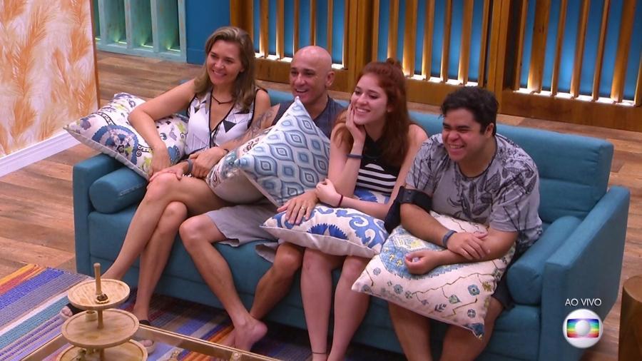 """Família Lima vai disputar vaga no """"BBB18"""" - Reprodução/TvGlobo"""