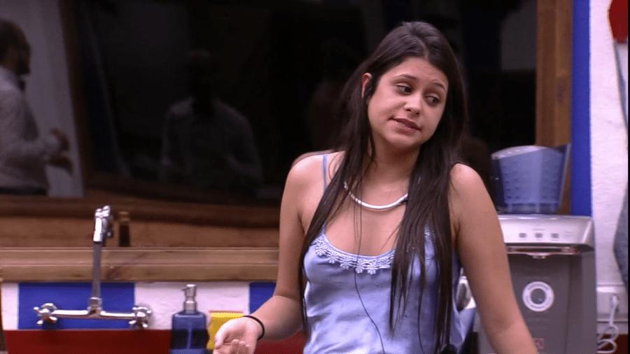 """Ana Paula diz que não passará o dia inteiro na cozinha do """"BBB18"""" - Reprodução/Globoplay"""