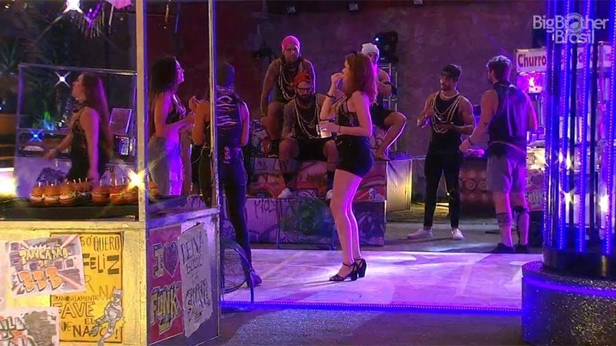"Ana Clara se joga na pista na festa ""Funk"" - Reprodução/GloboPlay"