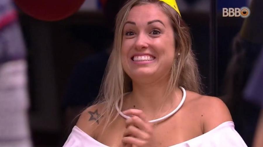 Jéssica ganha festa de aniversário - Reprodução/Globoplay