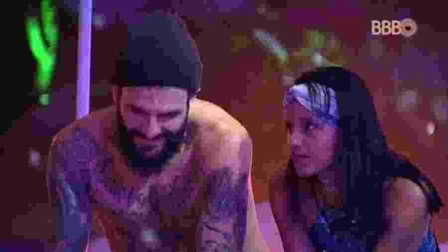 Gleici desabafa com Wagner  - Reprodução/Tv Globo