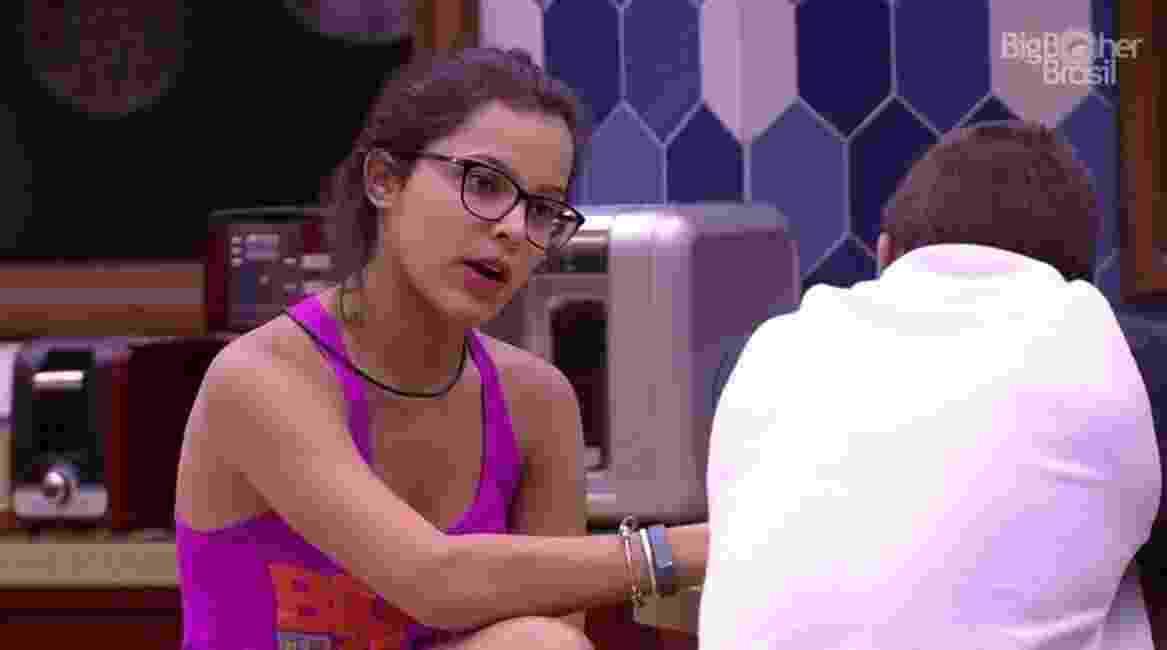 """24.jan.2017- Emily, participante do """"BBB17"""" - Reprodução/Tv Globo"""