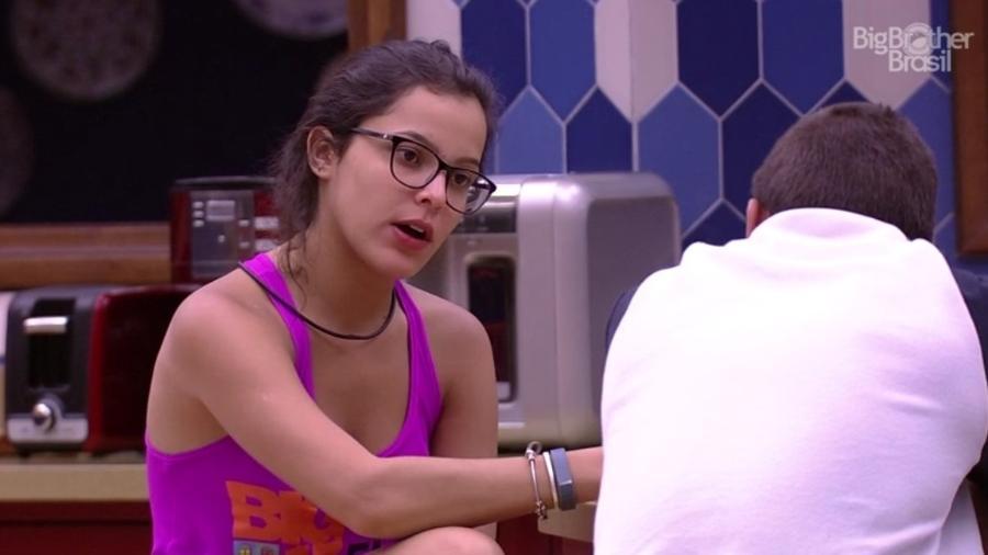 """Emily, participante do """"BBB17"""" - Reprodução/Tv Globo"""