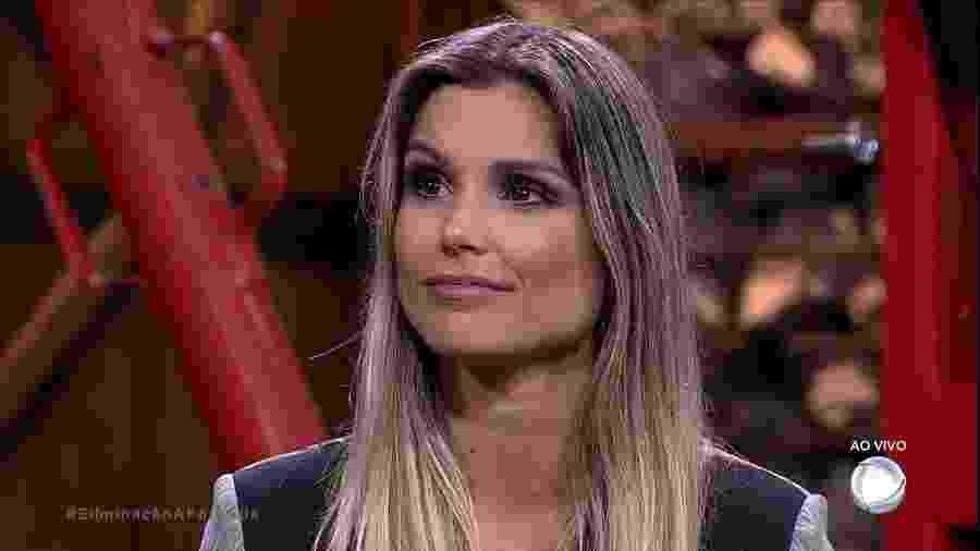"""Flávia Viana aguarda resultado da segunda roça de """"A Fazenda 9"""" - Reprodução/R7"""