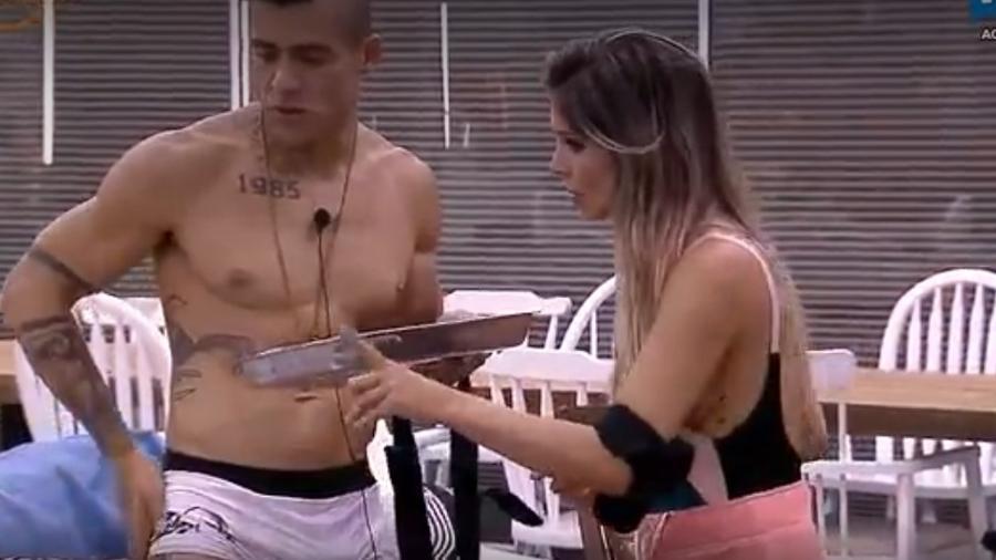 """Yuri culpa Marcos e Ana Paula Minerato por possível punição em """"A Fazenda 9"""" - Reprodução/Record"""