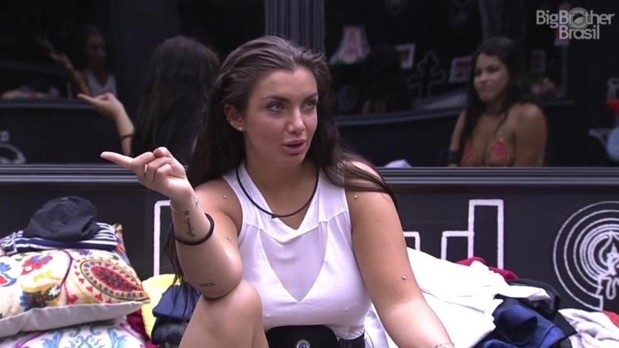 """Elettra quer saber se já houve sexo no """"BBB17"""" - Reprodução/ TV Globo"""
