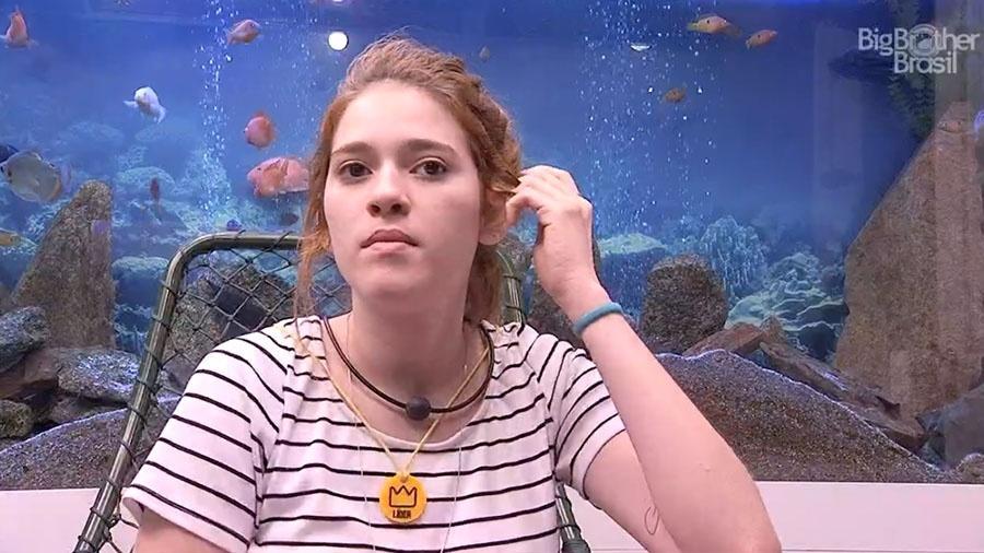 Ana Clara reclama da postura de alguns brothers no jogo - Reprodução/GloboPlay