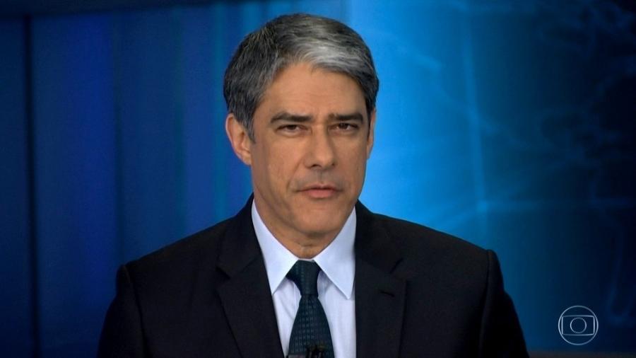William Bonner jamais ostenta marcas, grifes ou faz check-in em estabelecimentos; é exemplo para a casa - Reprodução/TV Globo