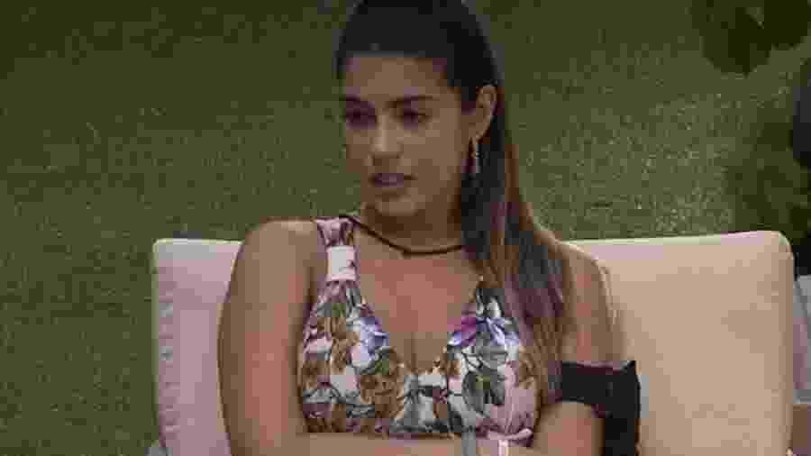 Vivian diz que foi atacada por Emilly primeiro  - Reprodução/TV Globo