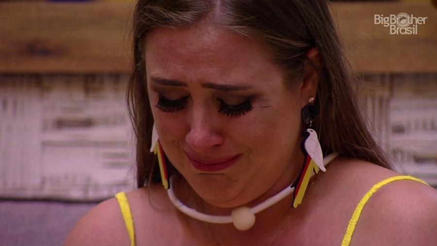 Patricia se emociona após saída de Ana Paula - Reprodução/TvGlobo