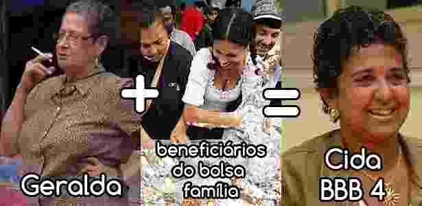 Diva campeões geralda - Reprodução/TV Globo e Montagem/Diva Depressão - Reprodução/TV Globo e Montagem/Diva Depressão