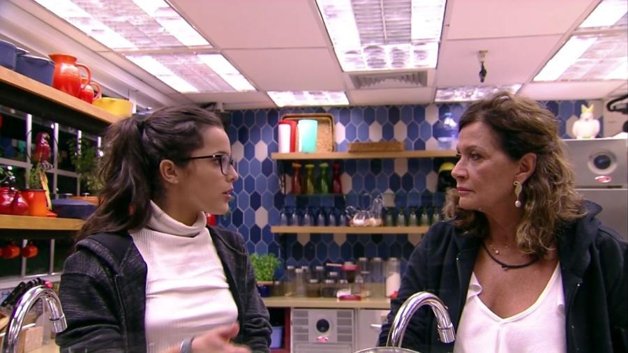 """Emilly e Ieda fazem as pazes no """"BBB17"""" - Reprodução/Gshow"""