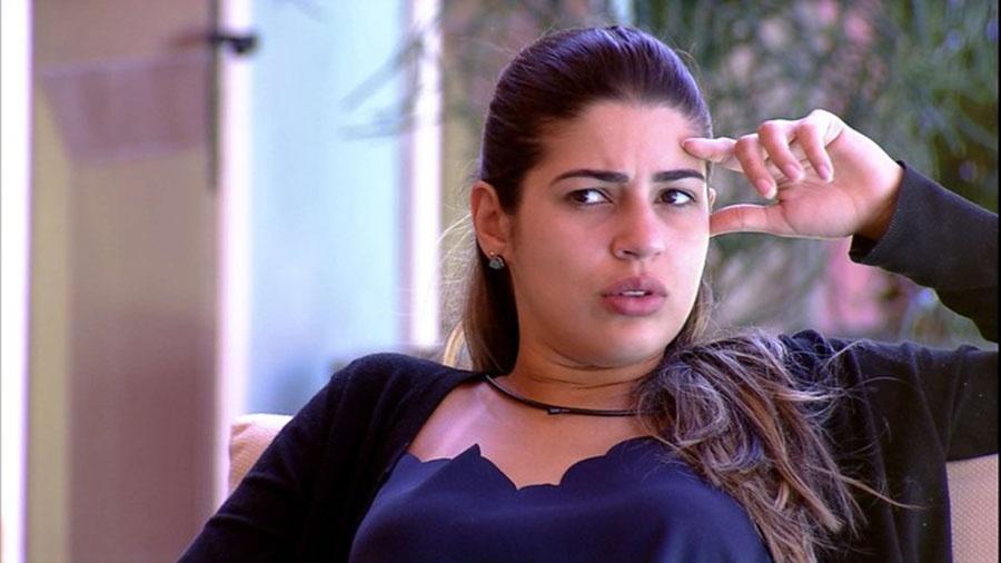 "Vivian condena surto de Marcos: ""Que desrespeito!"" - Reprodução/TVGlobo"