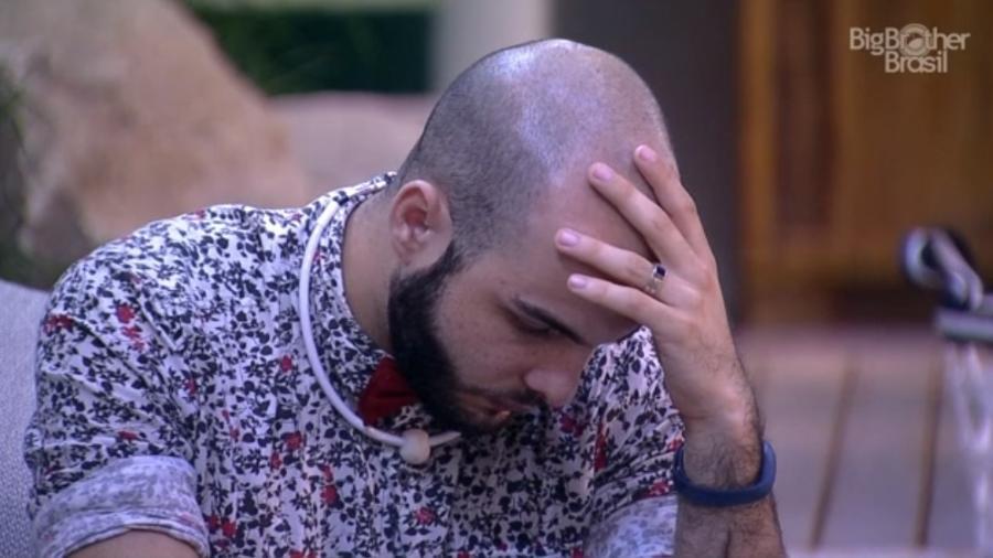 Mahmoud desabafa sobre Caruso  - Reprodução/Globoplay
