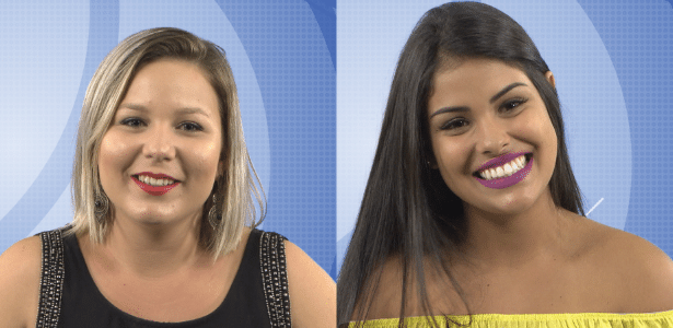 Maria Claudia e Munik, as duas finalistas mais jovens da história do BBB no Brasil - Reprodução/TV Globo