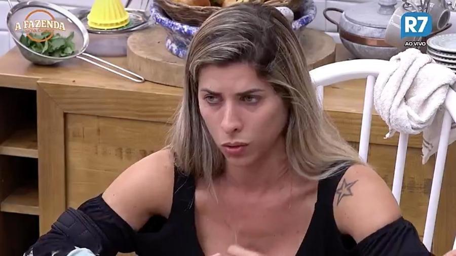 Ana Paula Minerato está preocupada com Aritana  - Reprodução/R7