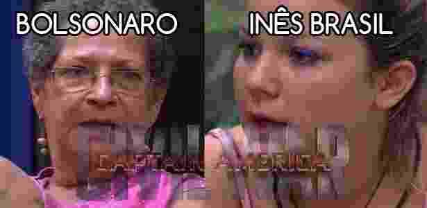 Diva - gege x cacau - Reprodução/TV Globo e Montagem/Diva Depressão - Reprodução/TV Globo e Montagem/Diva Depressão