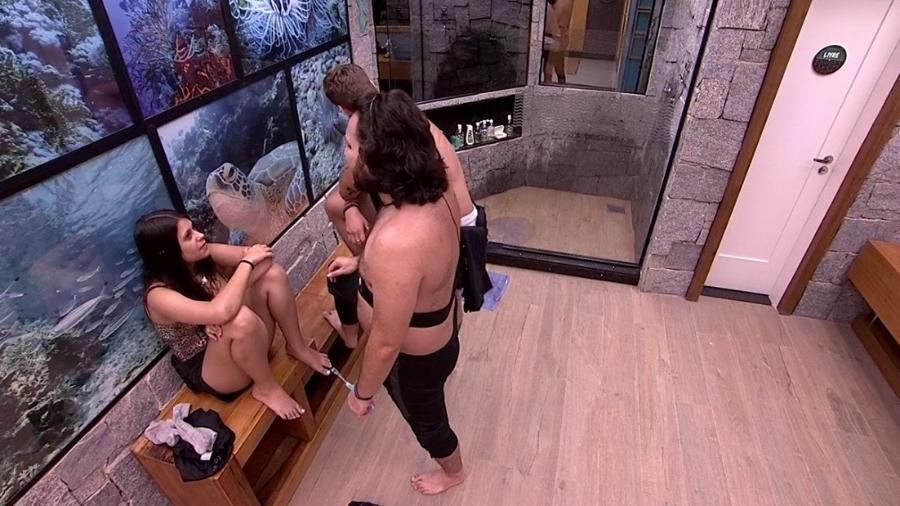 Ana Paula, Breno e Diego falam sobre a família Lima - Reprodução/Globoplay