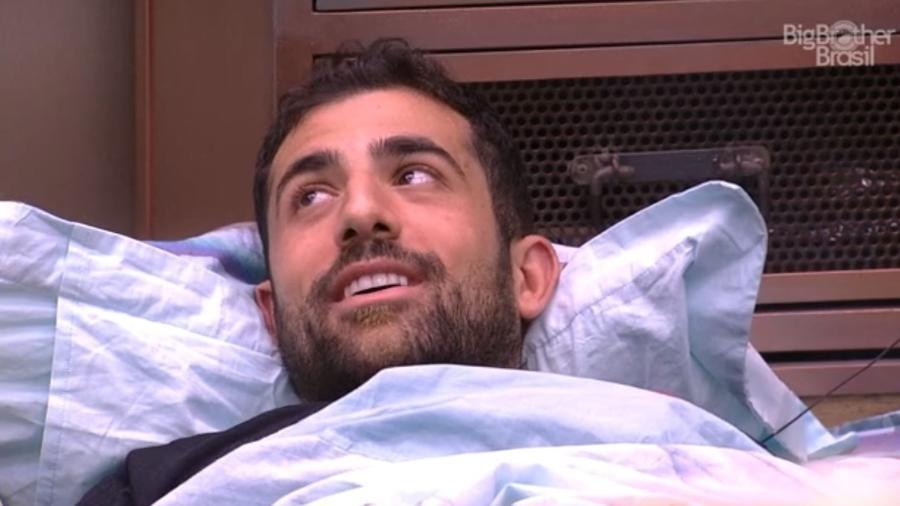 Kaysar diz que não sabe em quem votar  - Reprodução/Tv Globo